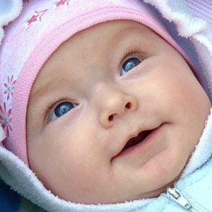 цвет глаз у новрожденных