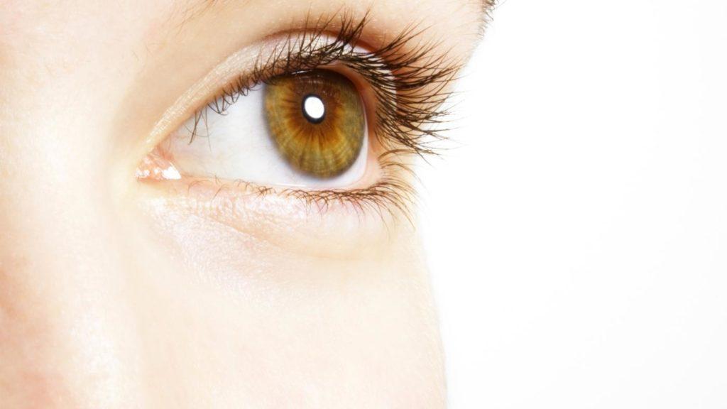 Светло-карий оттенок глаз