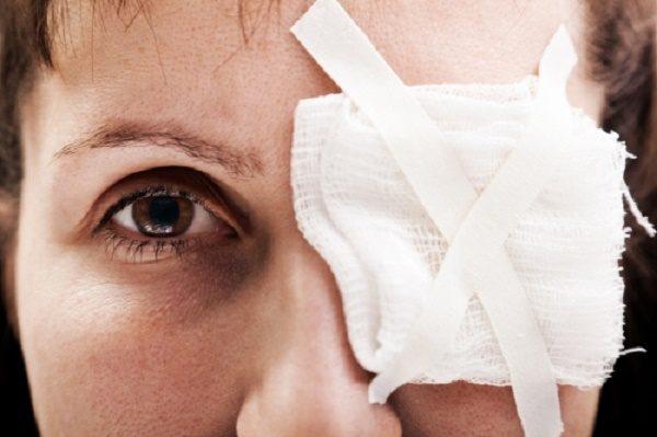 лечение сдавления органа зрения