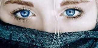 Голубые глаза считается очень красивыми