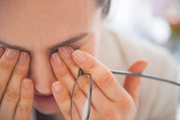 Усталость органов зрения отрицательно отражается на работоспособности.
